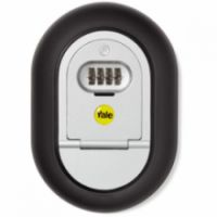 YALE COMBINATION KEY ACCESS SAFE OUTDOOR